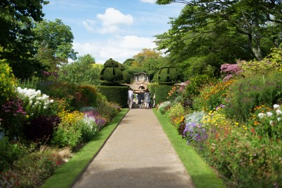 nymans long border