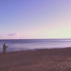 Un anziano pescatore. La mia Calabria. Nostalgia!