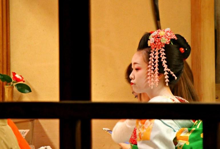 Una vera Geisha - Kyoto, Giappone