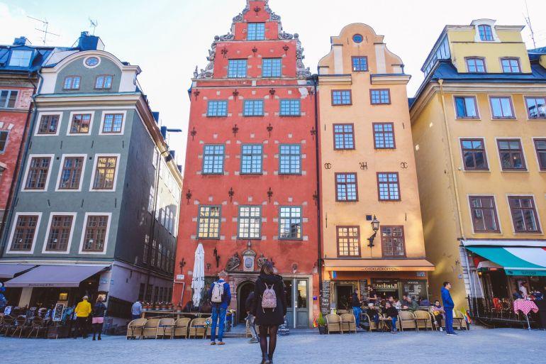 Stortorget, piazza di Stoccolma - Svezia