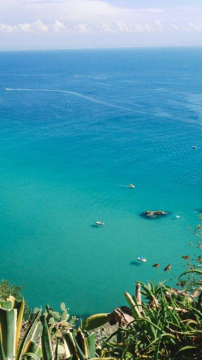 Vista da Capo Vaticano - Calabria