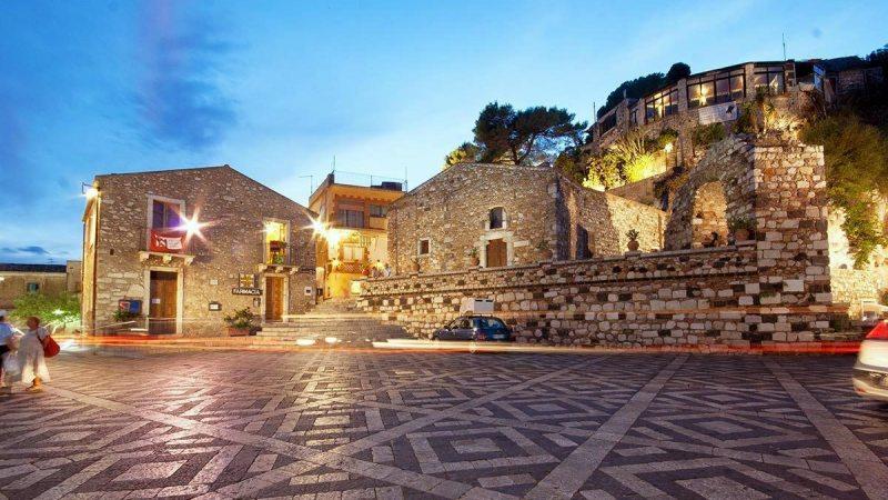 Castelmola è tra i più bei paesi vicino Taormina