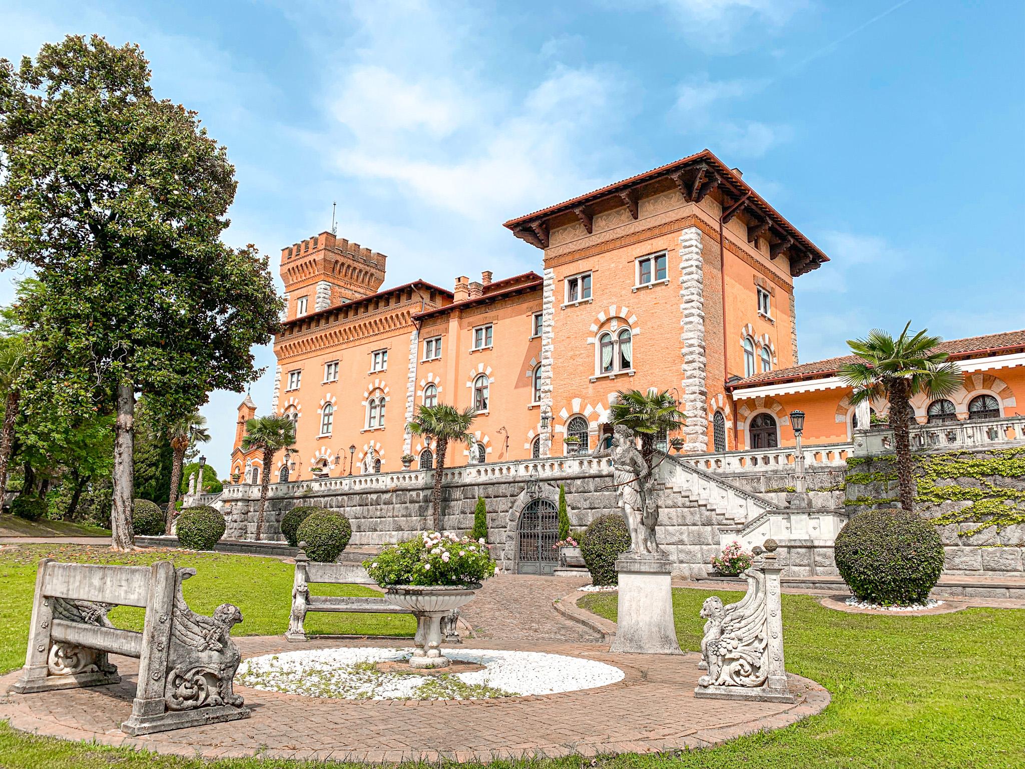 Il Collio friulano e il Castello di Spessa