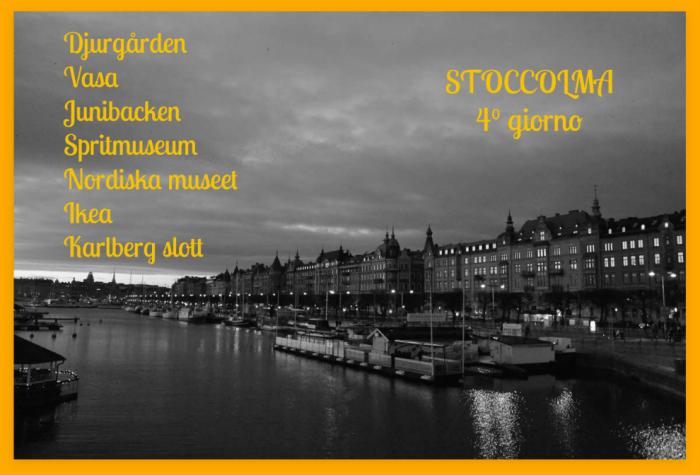 Stoccolma Stockholm  giorno 4
