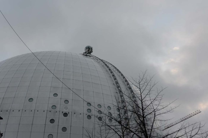 Ericsson Globe o Globen Stoccolma Stockholm