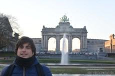 parc cinquantenaire bruxelles belgio