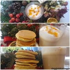 Ricetta di pancake e pumpkin latte