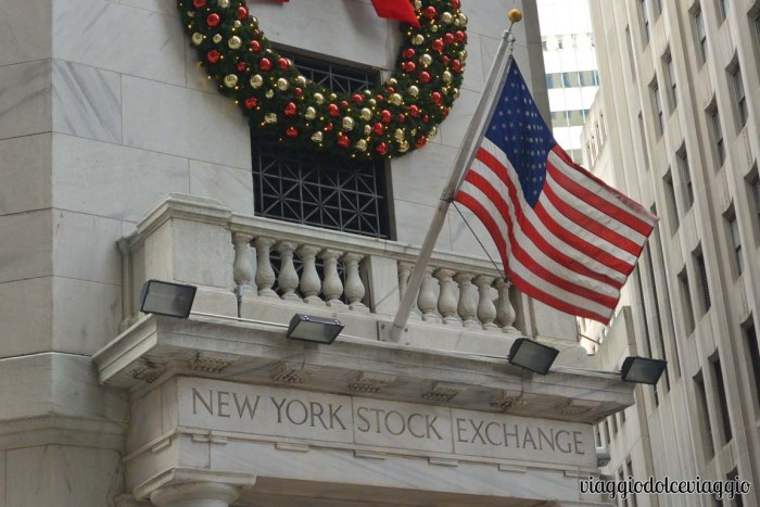 Wall Street New York Stock Exchange