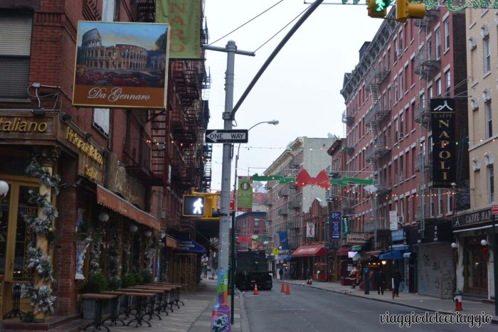 Little Italy a New York
