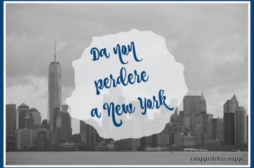 da non perdere a new york