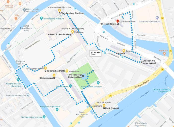 Slotsholmen, Copenhagen, mappa