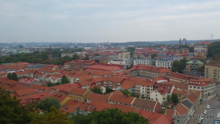 Panorama di Goteborg da Skansen Kronan