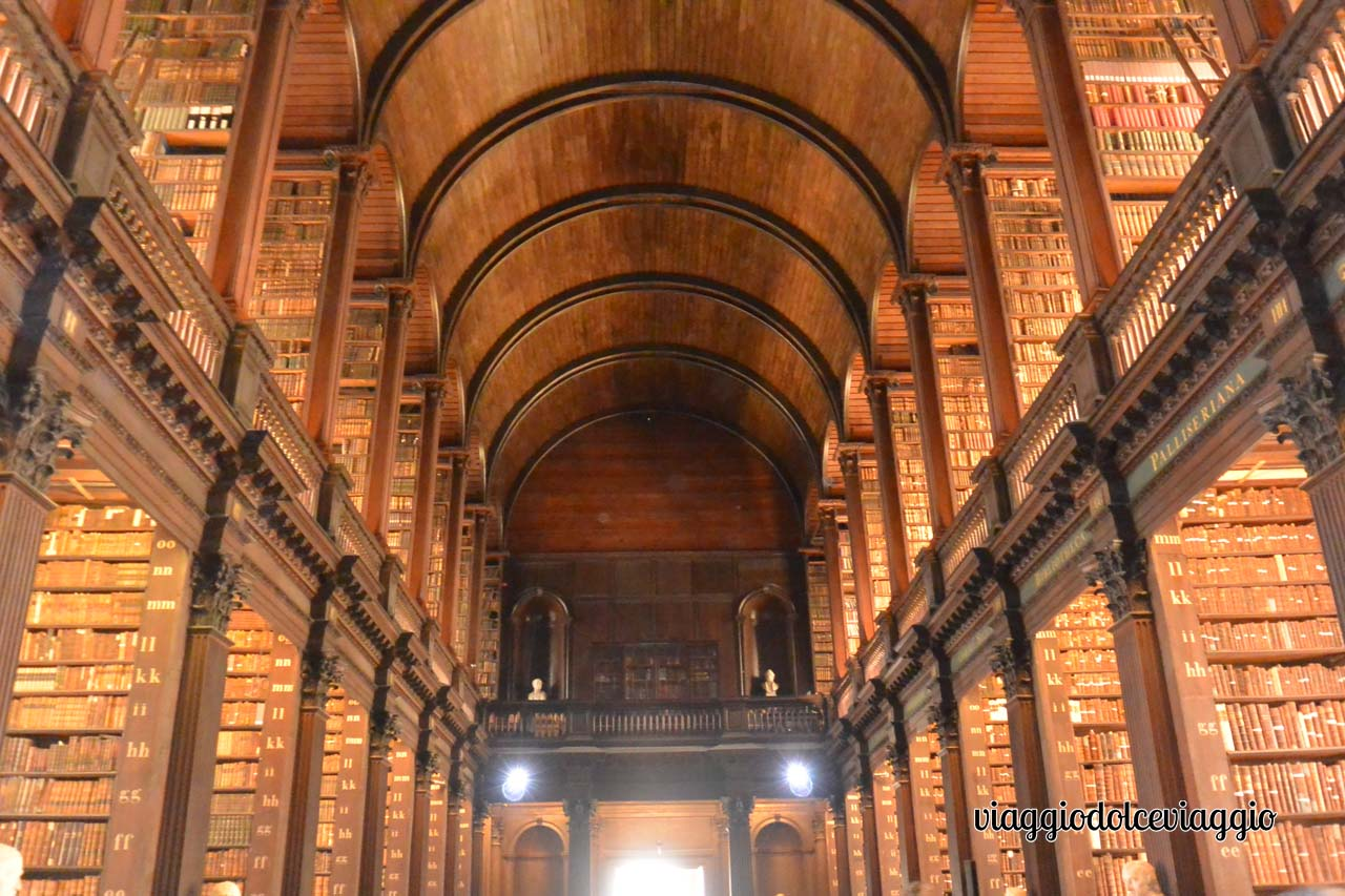 Dublino, Trinity College, Long Room