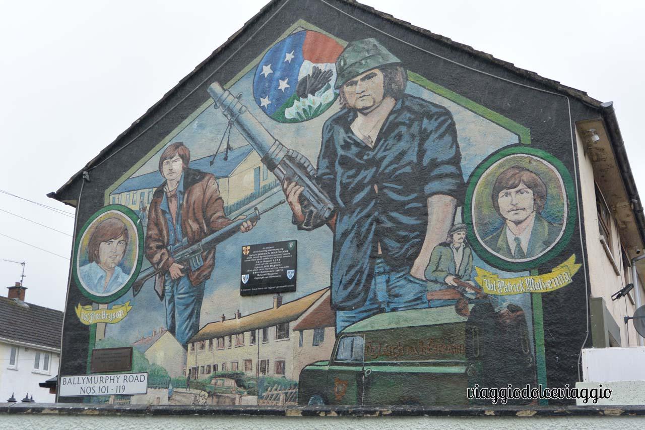 Belfast, murales