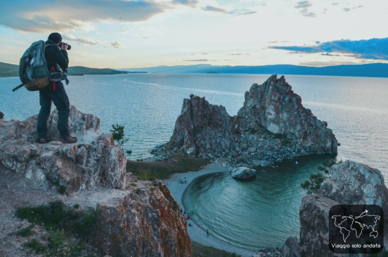 campeggiare a olkhon island foto big