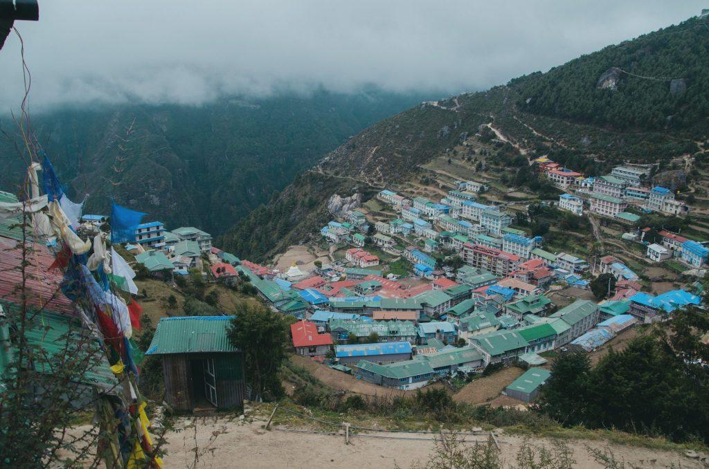 Namche Bazar in tutta la sua bellezza
