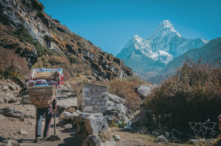 Everest base camp senza guida