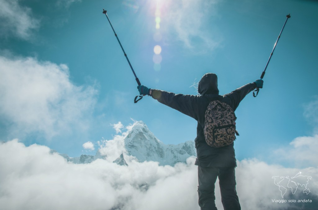 trekking per l'Everest base camp