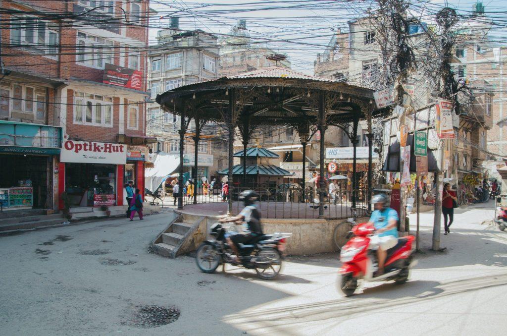 traffico katmandu