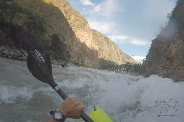kayaking trip in nepal