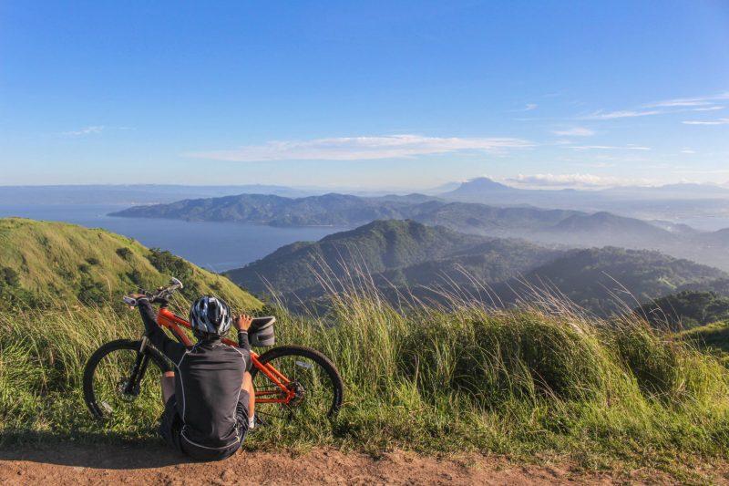 Strada su mare Cammino di Santiago in bici