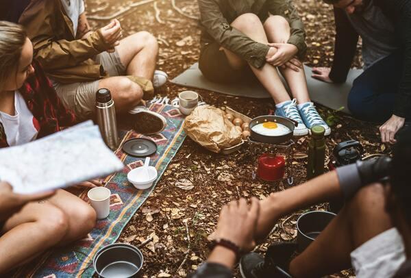 Campeggiare con la sharing economy