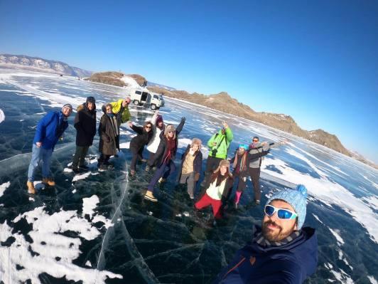 Transiberiana winter expedition 2020 lago baikal