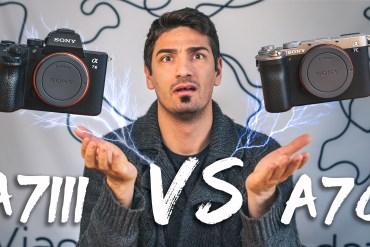 A7III vs A7C