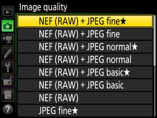 nikon raw format