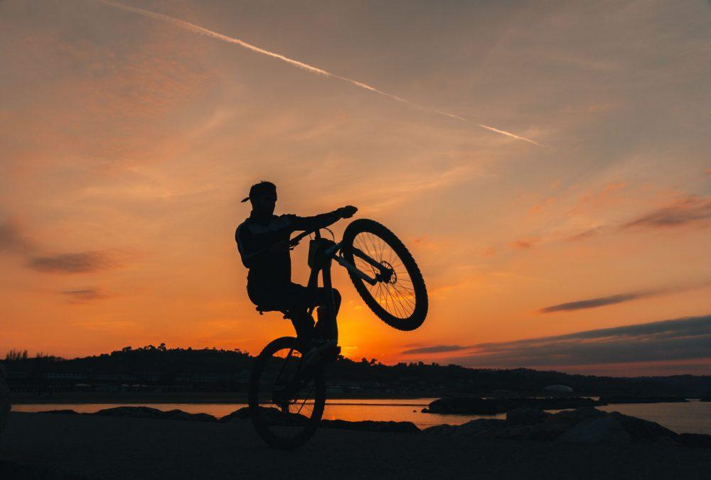 fotografare tramonti silhouette