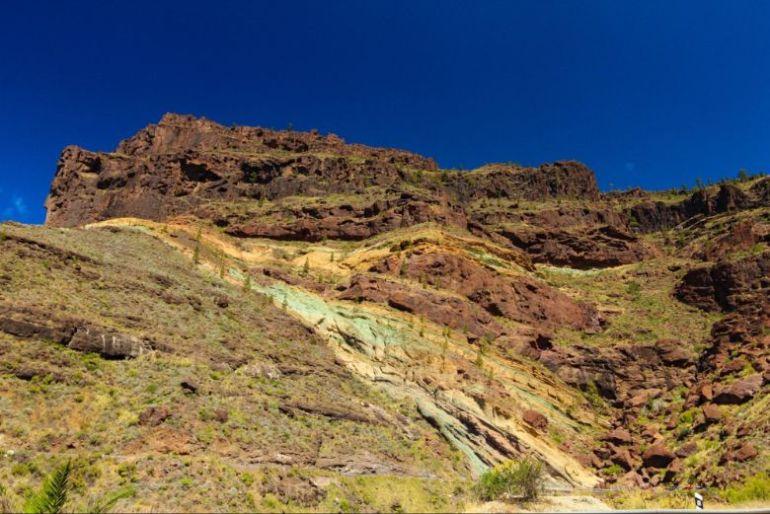 montagne arcobaleno gran canaria