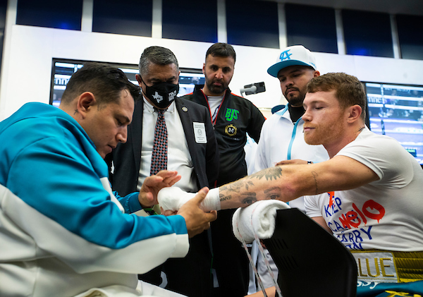 ready to fight. Canelo