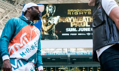 faceoff Mayweather