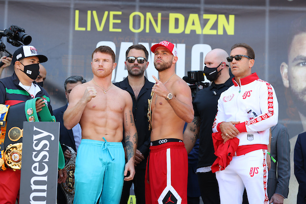 the faceoff canelo saunders