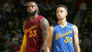 Curry LeBron rivals