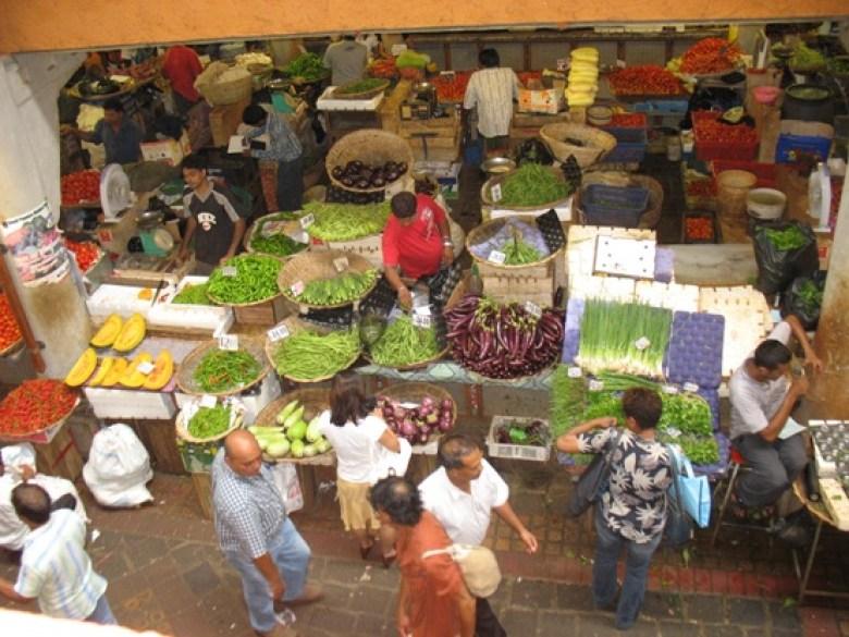 Mauritius: Mercato della frutta di Port Louis