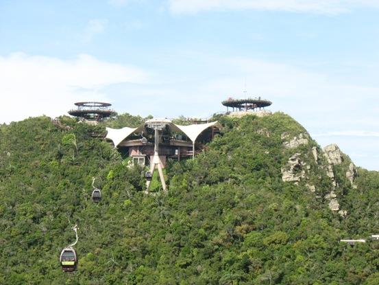 guardare Langkawi dall'alto
