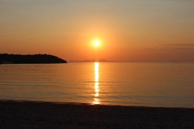 tramonti in grecia