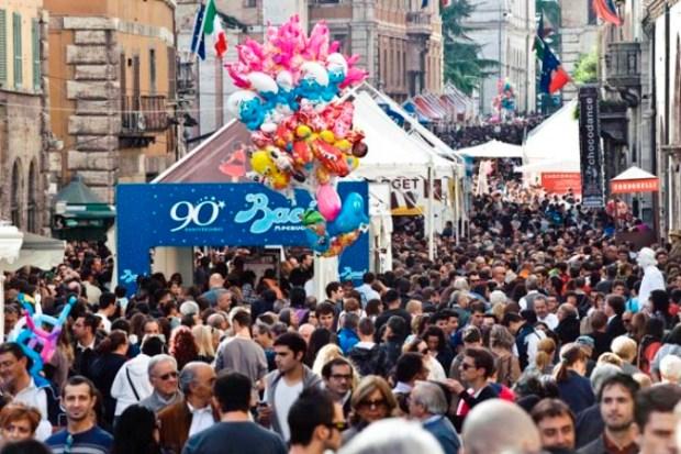Visitare Perugia per l'Eurochocolate