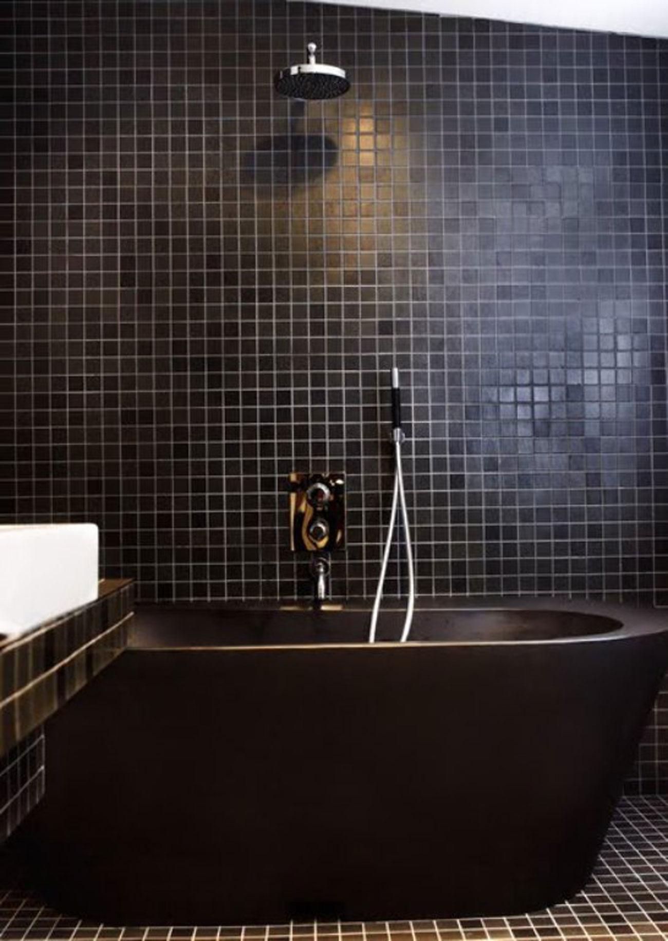 Bold Style Of Interior Design Of A Designer Home Studio Bathroom