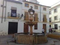 Plaza del Potro, nombrada por Cervantes Fuente del Potro de 1.577