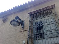 Fachada de antiguo edificio de La Inquisición