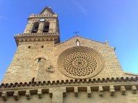 Iglesia de San Lorenzo, gótica S. XIII-XIV, construida sobre antigua mezquita