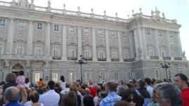 Semana Santa 2014. Palacio de Oriente. Madrid.