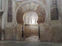 Mihrab. Mezquita de Córdoba