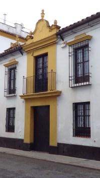 Puerta-fachada. Córdoba