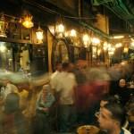 Cafe en Khan Al-Khalili . Cairo Egipto