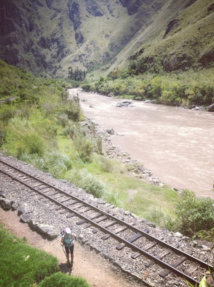 Rio Urubamba. Peru 2013_Camino barto a Machu Pichu. Sonsoles Lozano