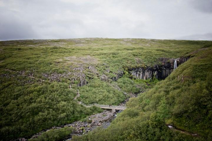 Viaje a Islandia. Svartifoss. Sonsoles Lozano