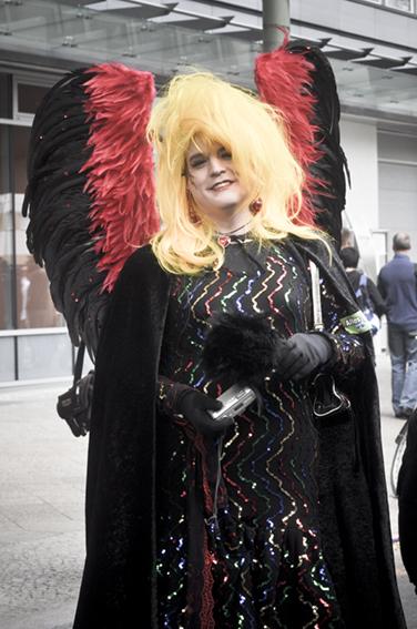 Gay parade_ Lady Deutschlandweb